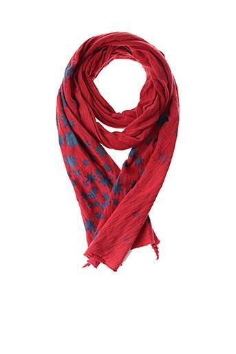 Foulard rouge SANS MARQUE pour femme