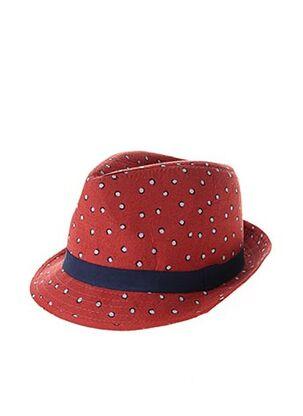 Chapeau rouge GALERIES LAFAYETTE pour femme