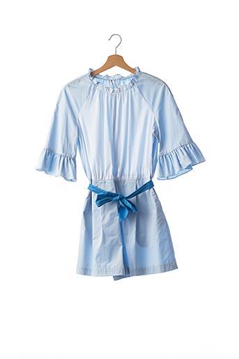 Combishort bleu SANDRO pour femme