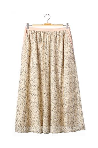 Jupe longue beige BAUM UND PFERDGARTEN pour femme