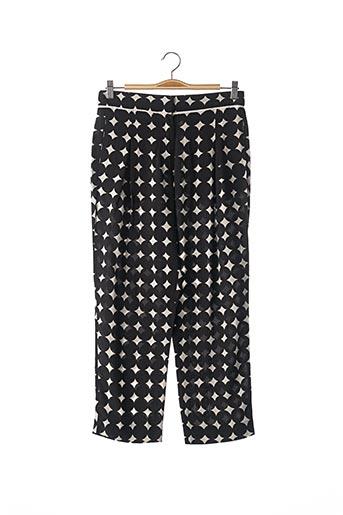 Pantalon 7/8 noir BIMBA Y LOLA pour femme