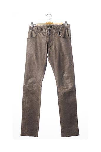 Pantalon casual gris STOULS pour femme