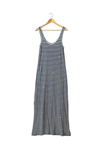 Robe longue bleu CURRENTE/ELLIOTT pour femme