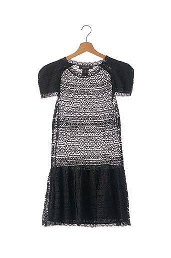 Robe mi-longue noir ISABEL MARANT pour femme