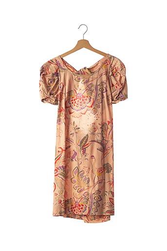 Robe mi-longue rose SEE BY CHLOÉ pour femme