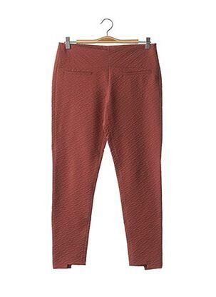 Pantalon 7/8 marron INTROPIA pour femme