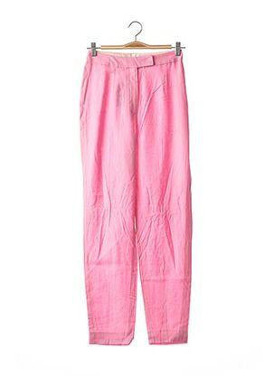 Pantalon casual rose GALLIANO pour femme