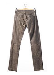 Pantalon casual gris STOULS pour femme seconde vue
