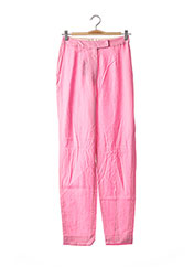 Pantalon casual rose GALLIANO pour femme seconde vue