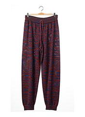 Pantalon casual rouge MISSONI pour femme seconde vue