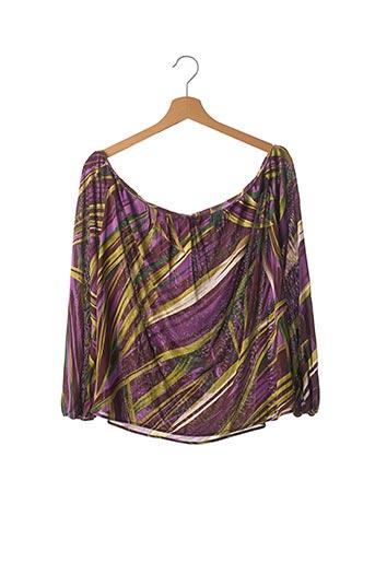 Blouse manches longues violet KENZO pour femme