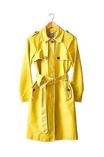 Imperméable/Trench jaune JIGSAW pour femme
