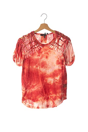 T-shirt manches courtes rouge ISABEL MARANT pour femme