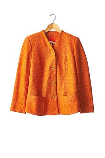 Veste chic / Blazer orange RODIER pour femme