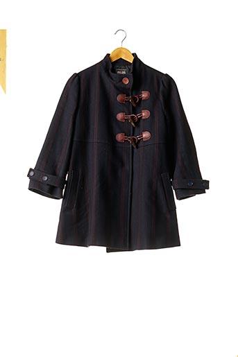 Manteau long bleu JEAN PAUL GAULTIER pour femme