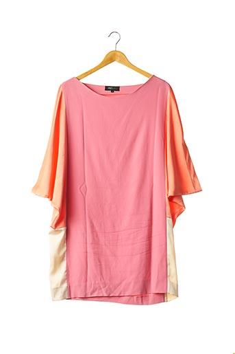 Robe courte rose EKJO pour femme