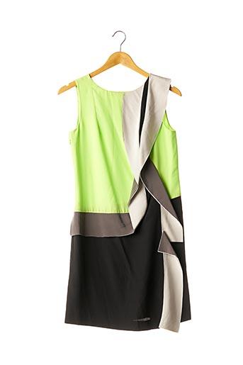 Robe courte vert DIANE VON FURSTENBERG pour femme