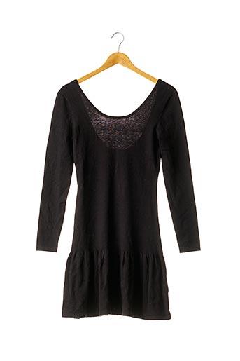Robe pull noir CLAUDIE PIERLOT pour femme