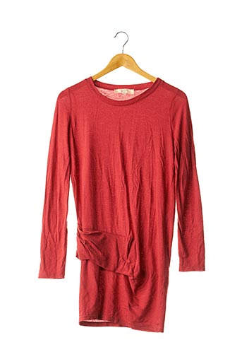 Robe pull rouge VANESSA BRUNO pour femme