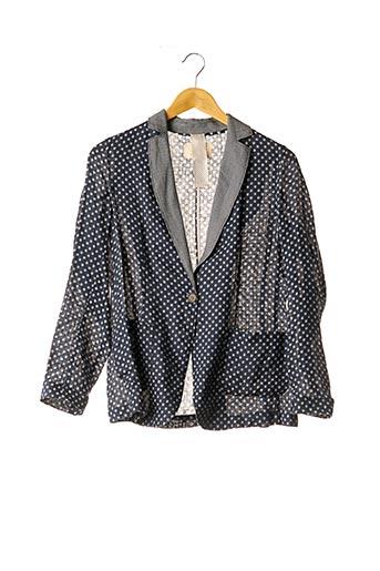 Veste casual bleu DIEGA pour femme