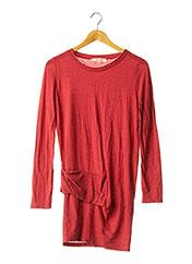 Robe pull rouge VANESSA BRUNO pour femme seconde vue