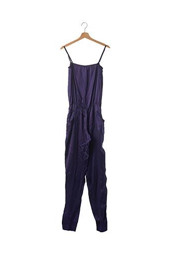 Combi-pantalon violet MAJE pour femme