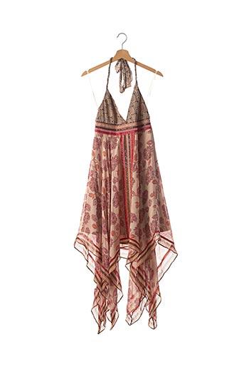 Robe courte rose SANS MARQUE pour femme
