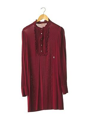 Robe courte rouge GALLIANO pour femme