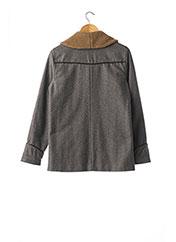 Manteau court gris PAUL & JOE pour femme seconde vue