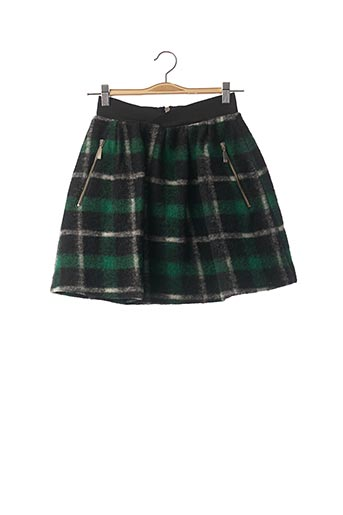 Jupe courte vert CASTELBAJAC pour femme