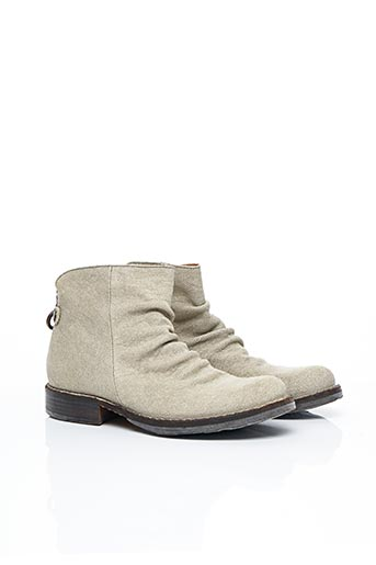 Bottines/Boots beige FIORENTINI+BAKER pour femme