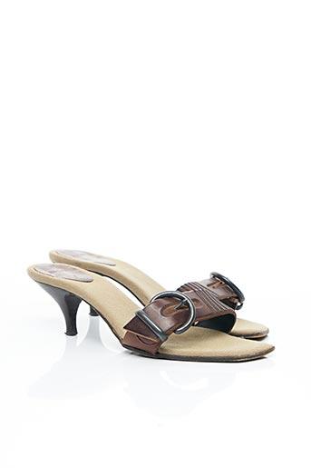 Mules/Sabots marron BARBARA BUI pour femme