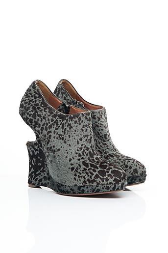 Bottines/Boots gris ALAIA pour femme