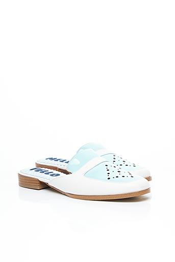 Mules/Sabots bleu MELLOW YELLOW pour femme