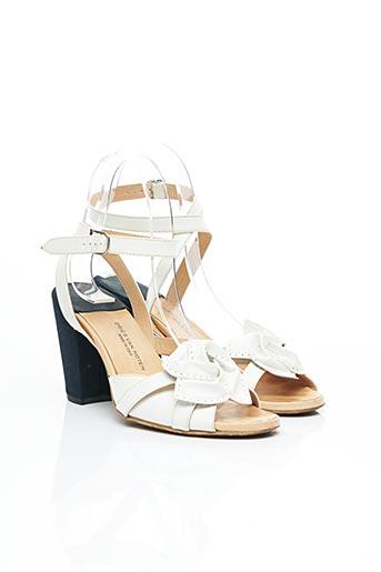 Sandales/Nu pieds blanc DRIES VAN NOTEN pour femme