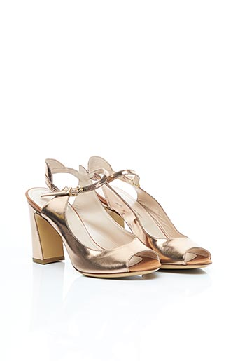 Sandales/Nu pieds rose E'CLAT pour femme