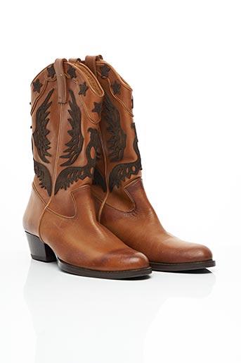 Bottines/Boots marron COMPAGNIA ITALIANA pour femme