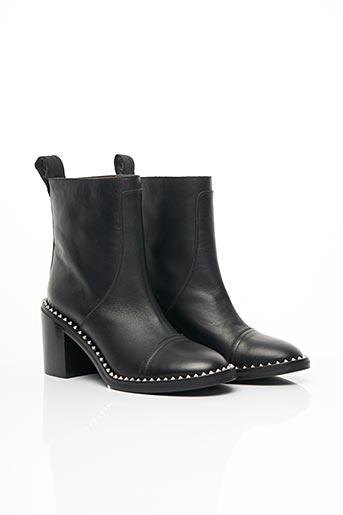 Bottines/Boots noir ZADIG & VOLTAIRE pour femme