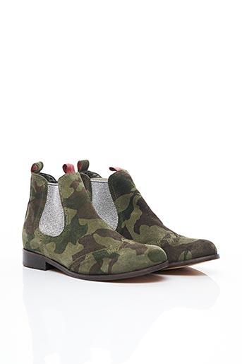 Bottines/Boots vert CATHERINE PARRA pour femme