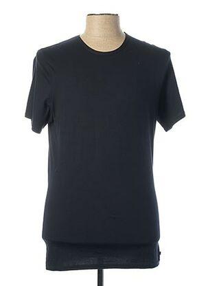 T-shirt manches courtes bleu DANIEL HECHTER pour homme