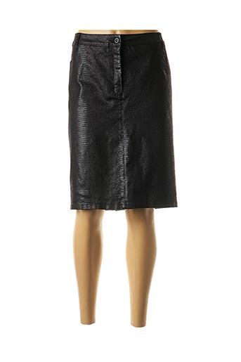Jupe mi-longue noir BRANDTEX pour femme