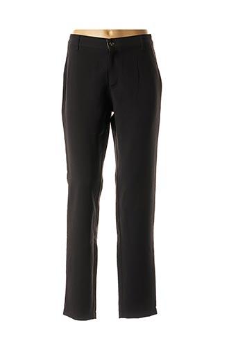 Pantalon casual noir WALTRON pour femme