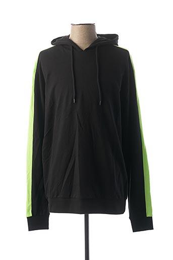 Sweat-shirt noir URBAN CLASSIC pour homme