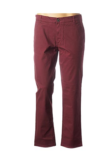 Legging rouge SELECTED pour homme