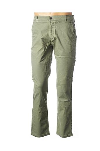 Pantalon casual vert SELECTED pour homme