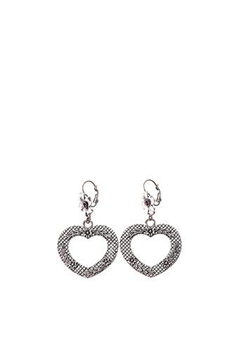 Boucles d'oreilles gris D'ANA pour femme