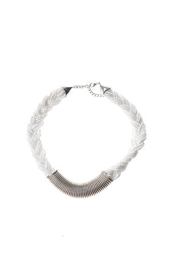 Collier blanc ELIOT pour femme