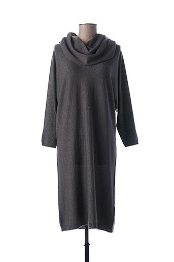 Robe mi-longue gris ESCORPION pour femme