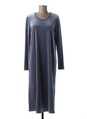 Robe mi-longue bleu MAXMARA pour femme