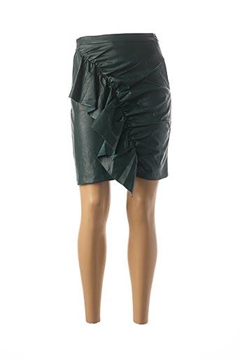 Jupe courte vert DAPHNEA pour femme
